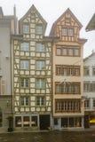 Erker-vensters in St Gallen Royalty-vrije Stock Afbeelding
