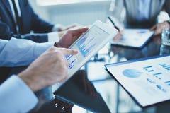 Erklären von Daten Lizenzfreie Stockfotos
