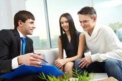 Erklären von Hypothekenzuständen Lizenzfreies Stockbild