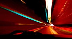 Erlöschen des Tunnels Lizenzfreies Stockfoto