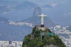 Erlöser und Corcovado Stockbilder