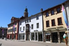 Erlangen, Deutschland lizenzfreies stockfoto