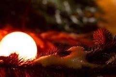 Erleichterte Weihnachtsbaumaste stockfoto