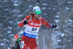 Erlend Bjeentergaard - biathlon Stock Image