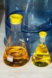 Erlenmeyer flasks 03 Stock Photos