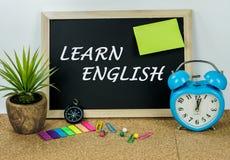 Erlernen Sie Englisch Lizenzfreie Stockbilder