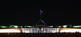 Erleuchten Sie Festival in Canberra lizenzfreie stockbilder