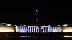 Erleuchten Sie Festival in Canberra lizenzfreies stockbild