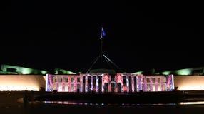 Erleuchten Sie Festival in Canberra stockfotos