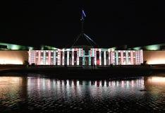 Erleuchten Sie Festival in Canberra stockfotografie