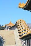 Erlong Mountain Pavilion Royalty Free Stock Photos
