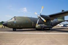 Erman Air Force c-160 Transall-vervoervliegtuig stock fotografie
