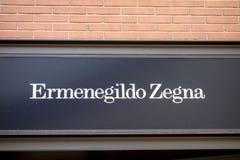 Ermenegildo Zegna 免版税库存图片