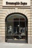 Ermenegildo Zegna boutique Stock Photo
