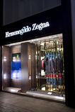 Ermenegildo Zegna boutique Stock Image