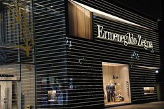 Ermenegildo Zegna   Fashion Boutique Stock Photo