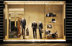 Ermenegildo Zegna Fashion Boutique Royalty Free Stock Image