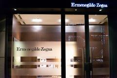Ermenegildo Zegna shop Stock Photo