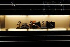 Ermenegildo Zegna showcase Royalty Free Stock Image