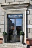 Ermenegildo Zegna store Royalty Free Stock Images
