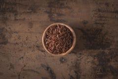 Ermes Italiaanse rode rijst Stock Foto's