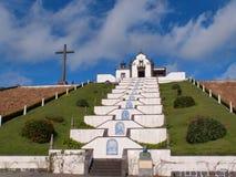 Ermida de Nossa Senhora DA Paz, sao Miguel, Azores Imagenes de archivo