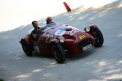 1951 Ermini 1100 Sport Siluro Mariani in Mille Miglia Royalty-vrije Stock Foto