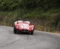ERMINI Tipo 357体育1500 Scaglietti 1955年 免版税图库摄影