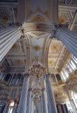 ermitażu muzealna pałac Petersburg st zima Zdjęcia Stock