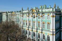 ermitażu muzealny Petersburg Russia st Fotografia Stock