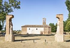 Ermita de La Virgen del Puente - Sahagun, León Foto de archivo libre de regalías