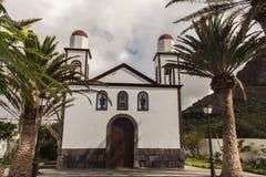 Ermita de las Nieves in Puerto de las Nieves Royalty Free Stock Photography