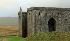 Ermita de piedra del castillo Fotos de archivo
