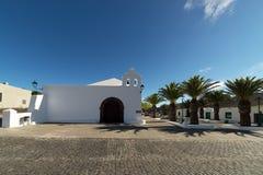 Ermita de San Marcial del Rubicón Royalty Free Stock Images