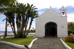Ermita de San Telmo. In Puerto de la Cruz (Tenerife Stock Photography