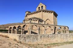 Ermita de Santa María de Eunate Fotografía de archivo libre de regalías