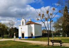 Ermita de St John el Bautista de Carrasqueira y del jardín fotografía de archivo