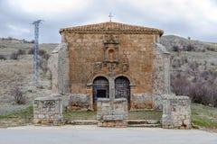 Ermita del Humilladero in Medinaceli. Soria. Spain. Hermitage, of the Humilladero in Medinaceli. Soria Castilla-Leon Spain Royalty Free Stock Image