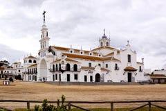 Ermita del Rocio. Andaluzia. Spain Stock Images