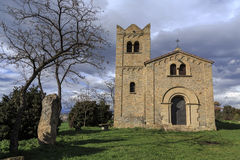 Ermita Sant Francesc Roda Vic Arkivfoton