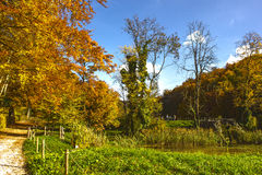 Ermitage Arlesheim (Ελβετία) το φθινόπωρο Στοκ Φωτογραφία
