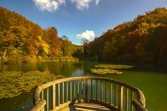 Ermitage Arlesheim (Ελβετία) το φθινόπωρο Στοκ φωτογραφίες με δικαίωμα ελεύθερης χρήσης