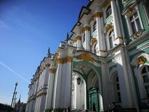 Ermitage. Art gallery in Saint-Peterburg Stock Image