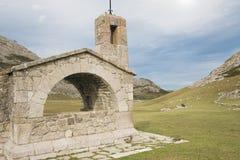 Ermitage of buen pastor. In the national park of Picos de Europa, Principado de Asturias (Spain Royalty Free Stock Images