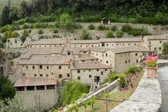 Ermitage - CELLULES du St Francis d'Assisi, Corton Photographie stock libre de droits