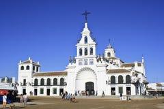 Ermitage d'EL Rocio Province de Huelva, Andalousie, Espagne Image libre de droits