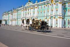 Ermitage dans le St Petersbourg Image libre de droits