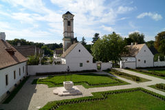 Ermitage de Camaldulian, Majkpuszta Photographie stock