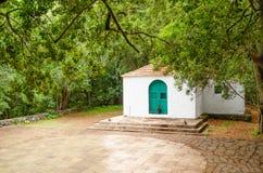 Ermitage de Lourdes, EL Cedro, La Gomera Photographie stock libre de droits