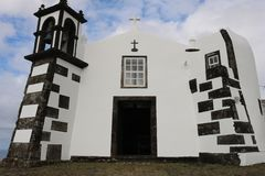 Ermitage de Nossa Senhora DA Ajuda Santa Cruz da Graciosa photos libres de droits